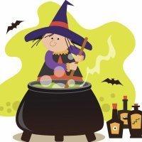 La bruja. Fábulas cortas para niños