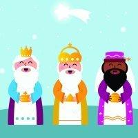 We Three Kings of Orient are. Villancico en inglés