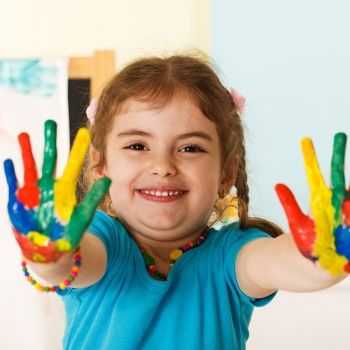 La importancia del arte para los niños pequeños