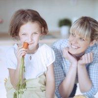Alimentos que limpian los dientes de los niños