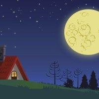 Au clair de la lune. Canción de cuna en francés para bebés