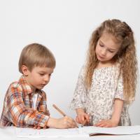 Enseñar a los niños a sumar