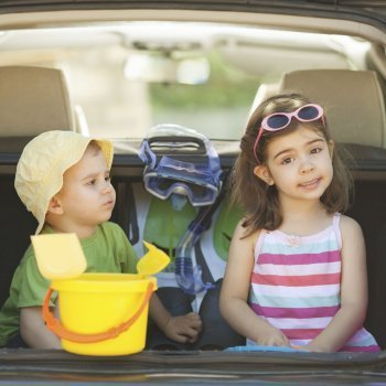 Viajar con menores de 5 años