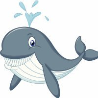 Poesía corta para niños. La ballena viajera