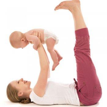 Yoga para bebés y mamás