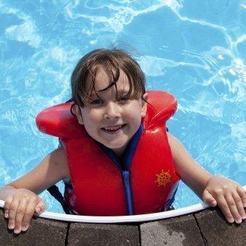 Seguridad en la natación infantil