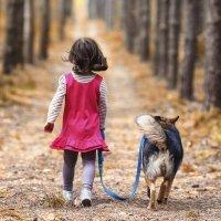 Los beneficios de caminar en los niños