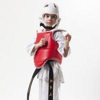 La practica del Taekwondo para los niños