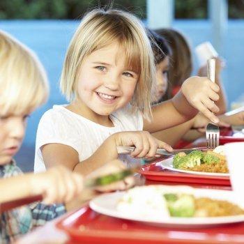 La comida de los niños