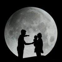 El ciclo lunar explicado para niños