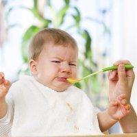 Cuando el bebé no quiere comer