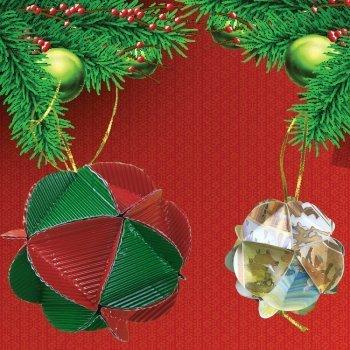 Bolas y esferas de navidad caseras para decorar el rbol - Bolas arbol navidad manualidades ...