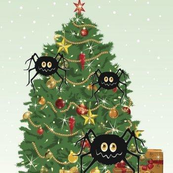 Las arañas de la Navidad. Cuento alemán