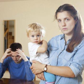 Separarse tras tener un hijo