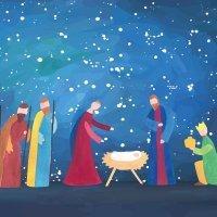 Jesús, el dulce, viene. Poema corto navideño