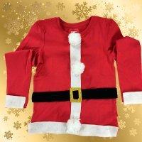 Disfraz casero de Papá Noel. Manualidades navideñas