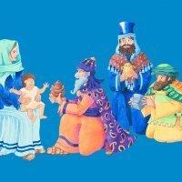 Los tres Reyes Magos. Poema corto para niños
