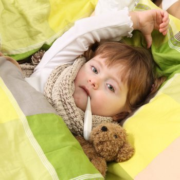 Tratamiento de la gripe en niños