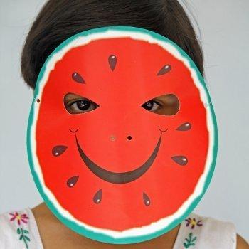 Máscaras con platos
