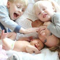 Como repartir la atención a los hijos cuando son tres