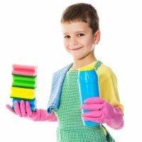 Los beneficios de realizar tareas domésticas para el niño