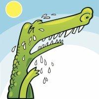 El cocodrilo gigante. Poesía con rima para niños