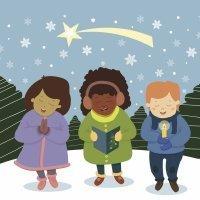 A las 12 de la noche. Canción de Navidad