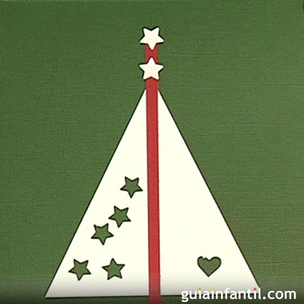 ideas tarjetas navideas para nios