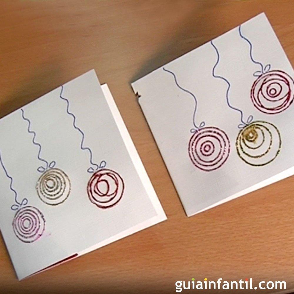 Ideas tarjetas navide as para ni os - Ideas postales navidad ...