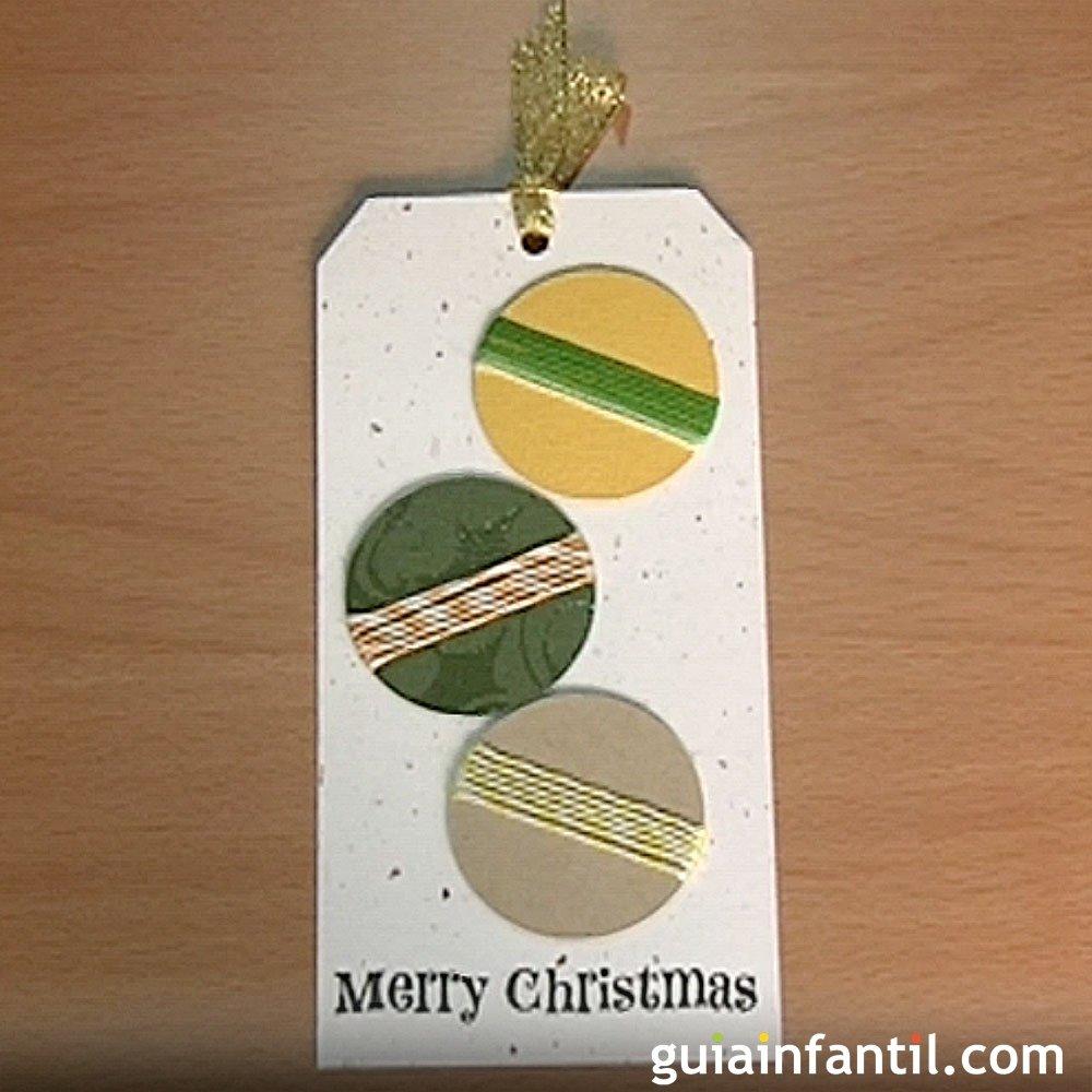 Ideas tarjetas navide as para ni os for Tarjetas de navidad hechas por ninos