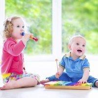 Estímulos musicales en bebés