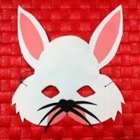 Antifaz de conejo. Manualidades de Carnaval