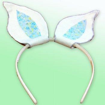 Diadema de orejas de conejo
