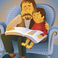 Libros con cuentos para niños sobre los padres o papás