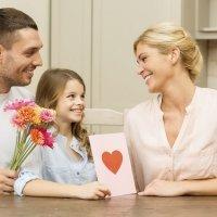 Tarjetas para el Día de la Madre. Manualidades infantiles
