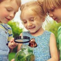 La primavera y los niños