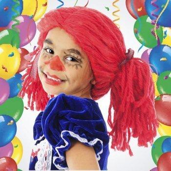 Peluca para Carnaval. Manualidades para niños