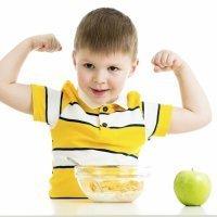 Alimentos que curan: el crecimiento de los niños