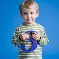 Niño de tres años