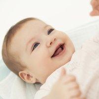 La sonrisa en los bebés