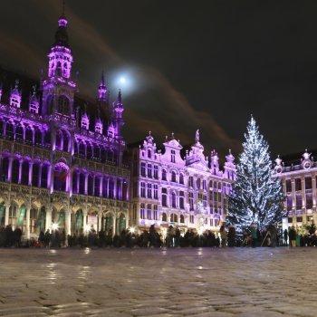 Viaje a Bruselas con niños. Navidad en familia
