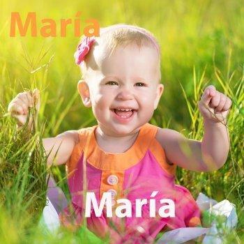 María: dibujos de los nombres para colorear, pintar e imprimir