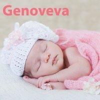 Día de santa Genoveva, 3 de enero. Nombres para niña