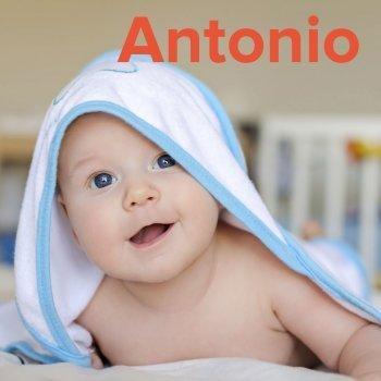 Dibujos de los nombres. Nombre Antonio para pintar, colorear e imprimir