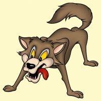 El lobo orgulloso y el león. Fábulas para niños de Esopo