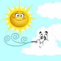 El Viento del Norte y el Sol. Fábulas de Esopo para niños
