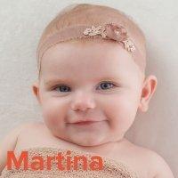 Día de la Santa Martina, 30 de enero. Nombres para niñas