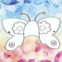 Cómo hacer, paso a paso, un antifaz de mariposa