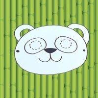 Cómo hacer, paso a paso, una máscara de oso panda