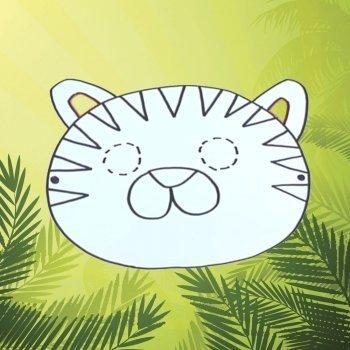 Máscara de tigre
